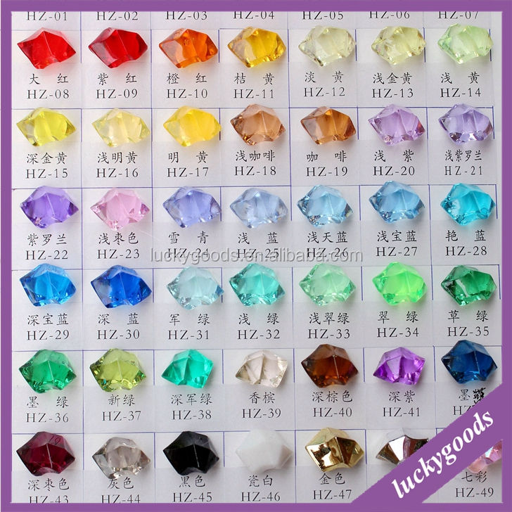 RG076 Fashionable Plastic Clear Acrylic Beads Wholesale