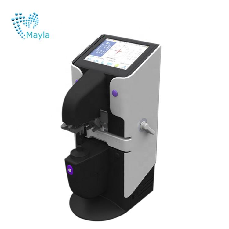 Cheapest auto lensmeter price with PD/ UV/printer and 5.7 inch touch screen