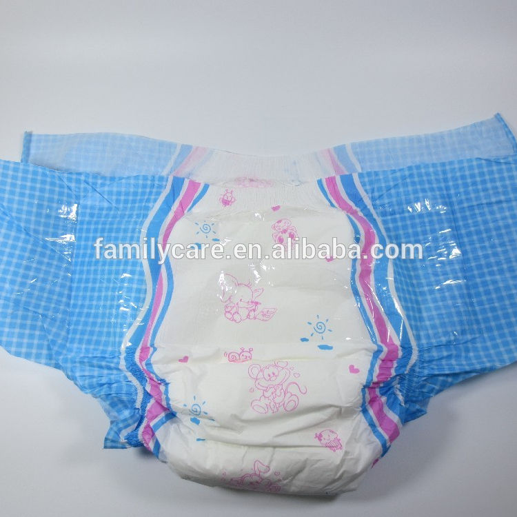Candy L size ABDL disposable adult diaper top high absorption ultra thick rainbow design diaper