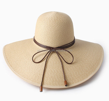 Sedex audit outdoor large brim summer beach holiday sunhat straw hat