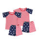 wholesale clothing Little boys 4th of July outfits kids clothes boys