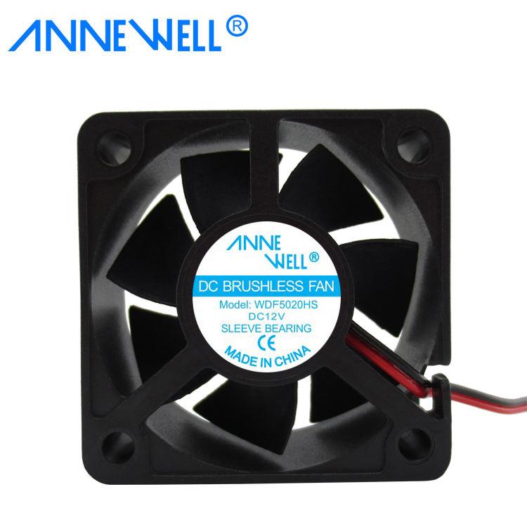 10Pcs Ball 5V 50x50x10mm 5cm 50mm PC CPU Computer Brushless Cooling Fan 2pin
