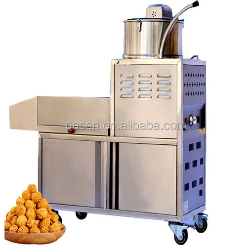 Popcorn maker machine,commercial popcorn machine,industrial round popcorn making machine