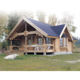 family holiday wood house cheap russia log homes with high quality