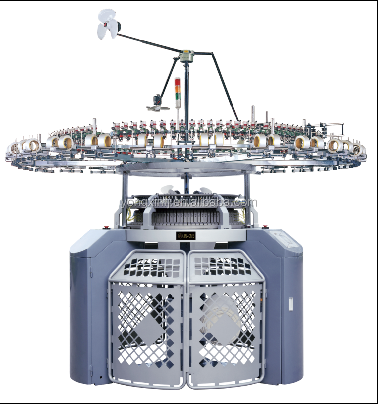 High Speed and lowest price single jersey circular knitting machine/Maquina circular with GROZ BECKERT-GERMANY