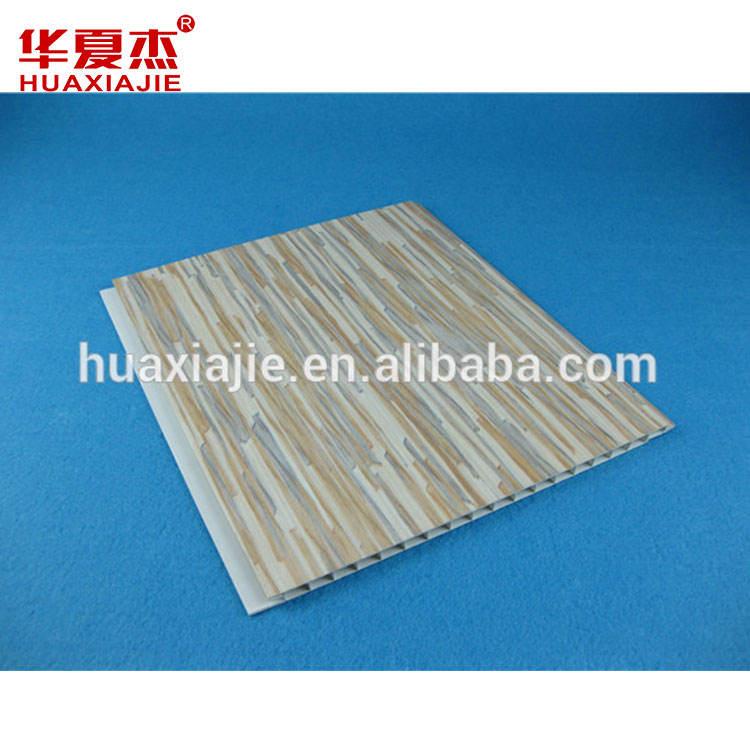Artistico ed elegante pannelli a soffitto pvc false/carina vinile soffitto tavole