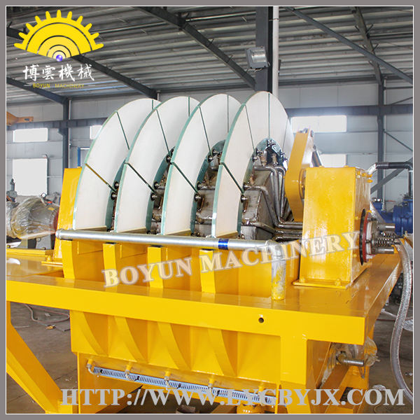 Filtro De Tambor rotatorio con Placa De Cerámica Porosa y Sistema de Filtración De Vacío Para mineral de pulpa