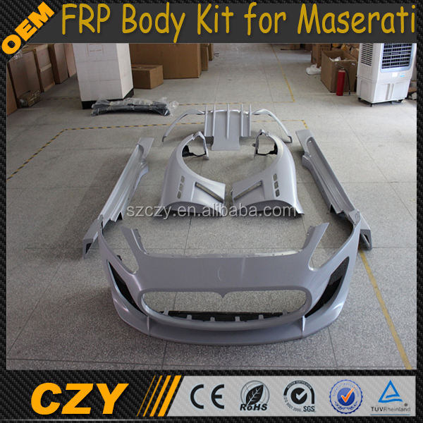 MC style Fiberglass Car BodyKit for Maserati GT 11-12