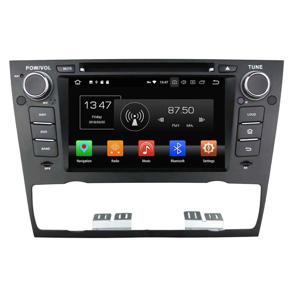 7 inch android 8.0 car dvd player for BMW E90 / E91 / E92 / E93 autoradio with car video radio gps navigation wifi radio stereo