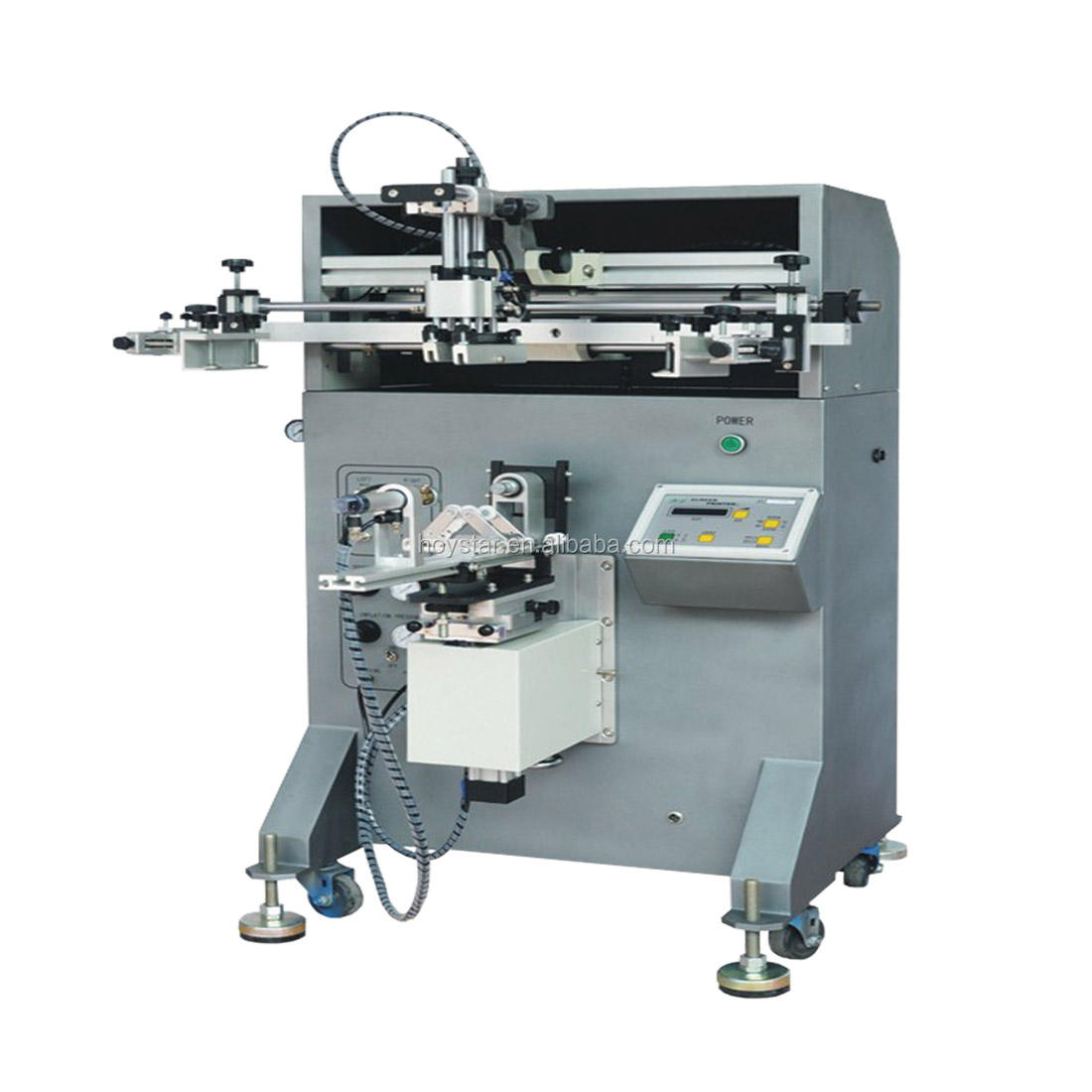 cylinder paper cup/mug/bottle silk screen printing machine/screen printer price for sale