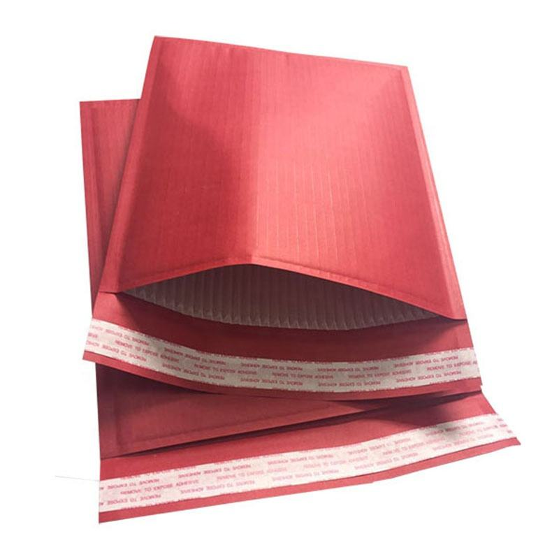 Custom Colored Corrugated Recyclable Paper Padded Mailer Self-seal Envelope