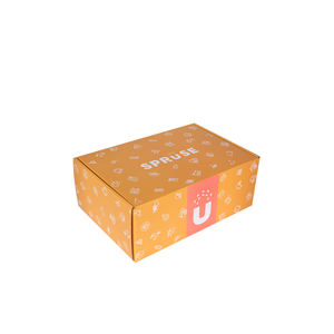 Cardboard foldable corrugated mailer box custom printed box shipping boxes
