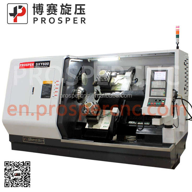 cnc milling machine Fully automatic CNC spinning