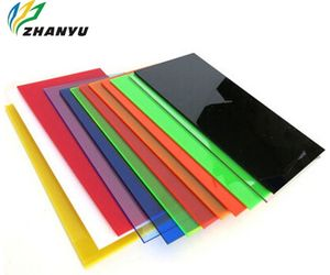 Transparent Perspex Plate 3mm Colored Board Cut Acrylic Sheet