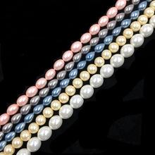 highlight glass pearl beads for jewelry making
