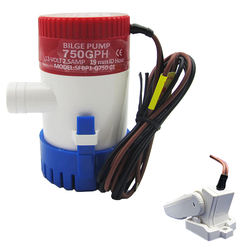 High Quality marine RV boat 750GPH Water Pump 12 Volt Bilge Pump