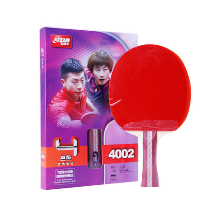 Original DHS 4002 4006 table tennis racquet rackets with ittf pimples in rubbers fast attack with loop