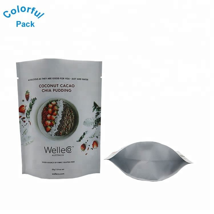 Packaging plastic standup pouches packaging printing laminating pouches for food