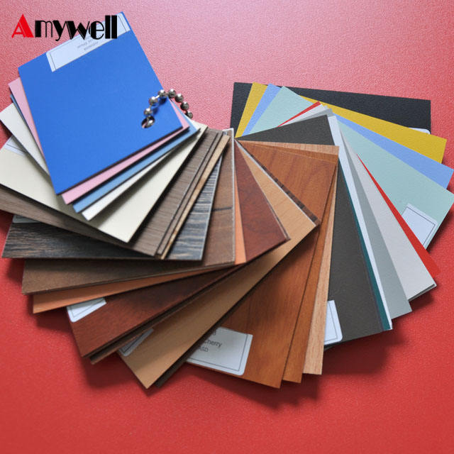 Free sample! Amywell Fireproof HPL 1mm formica sheets