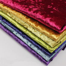 Wholesale 100% polyester ice crush velvet fabric for sofa/ice velvet for bed