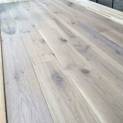 grey rustic grade European oak hardwood flooring