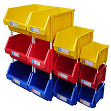 Spare Parts Stackable Plastic Storage Bins