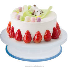 Cake Making Turntable Rotating Decorating Platform Display Stand 27cm Plastic Cake Decorating Turntable