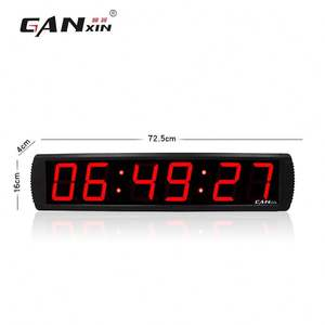 Ganxin LED Countdown Timer Remote Control LED Digital Jam Dinding