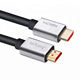 custom rohs extension braided drop fiber active optic audio video ultra thin hdmi cable