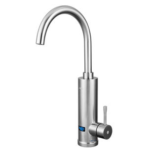220V 3300W Stainless steel Instant electric hot water tap bathroom faucet