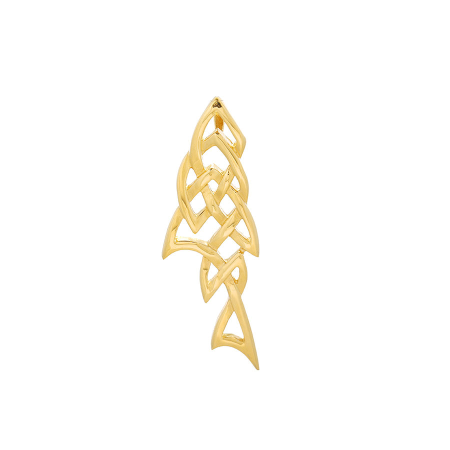 pendant-125 xuping fashion pendant 24K gold color latest design fish shape pendant