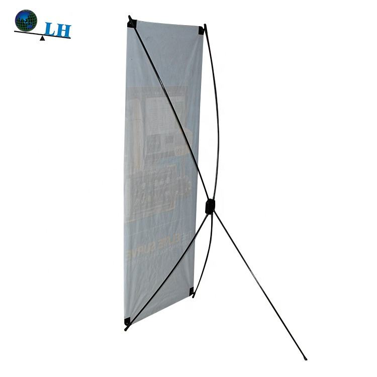 Stand Alone Banner Display PC 60*160 Cm X-Frame X-banner Stand