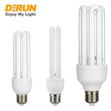 Hot Sales Energy Saving Lights 2U 3U 4U T3 T4 T5 11W 15W 18W 20W 25W 32W 45W E27 B22 110V 120V 220V 230V CFL Lamp Bulbs , CFL-U