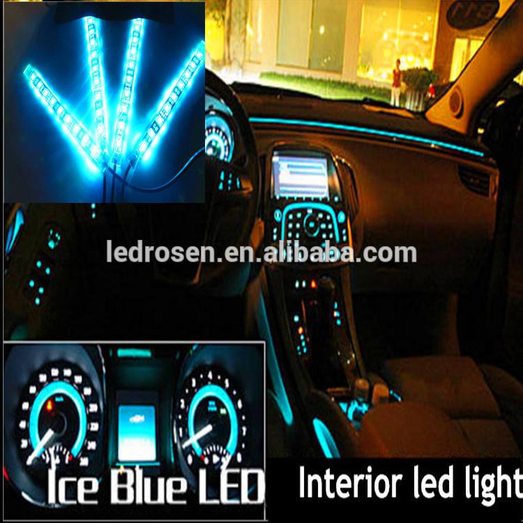de haute qualité rgb peut être obscurci led auto lumière intérieure pour voiture instrument avec allume cigare fabriqués