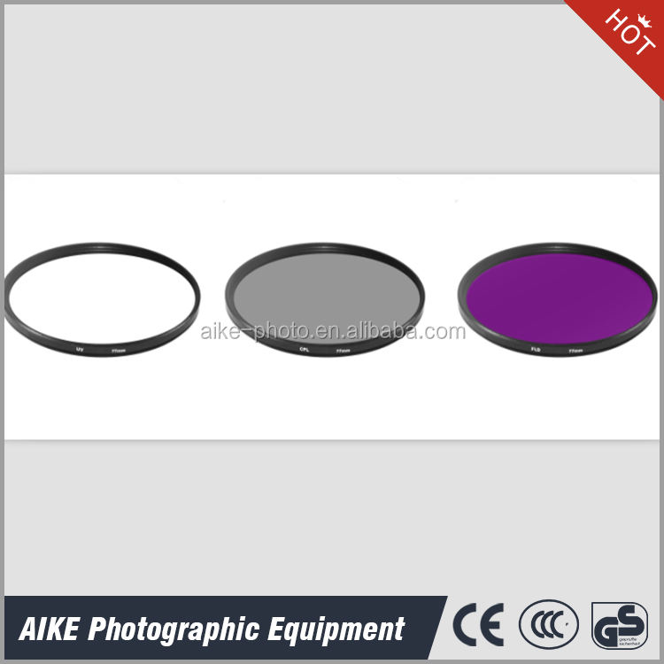 Filter Set 77 mm UV CPL FLD Filter For Any Digital SlR Camera With 77 mm Lens, Fit For Canon Nikon Olympus Ect DSLR