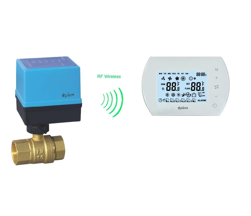 Motorized Valve WB 7000 2 Way/3 Way RF Wireless Motorized Ball Valve