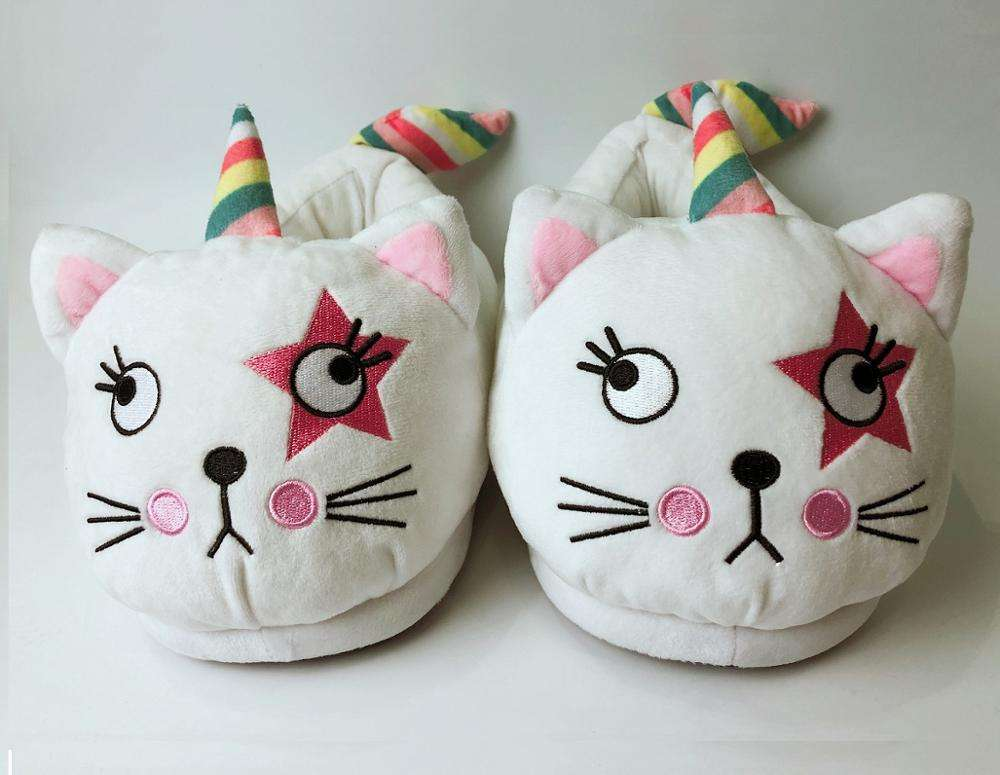 Unicorn cat kitty New style slippers cute women slippers with wholesale Price for girls