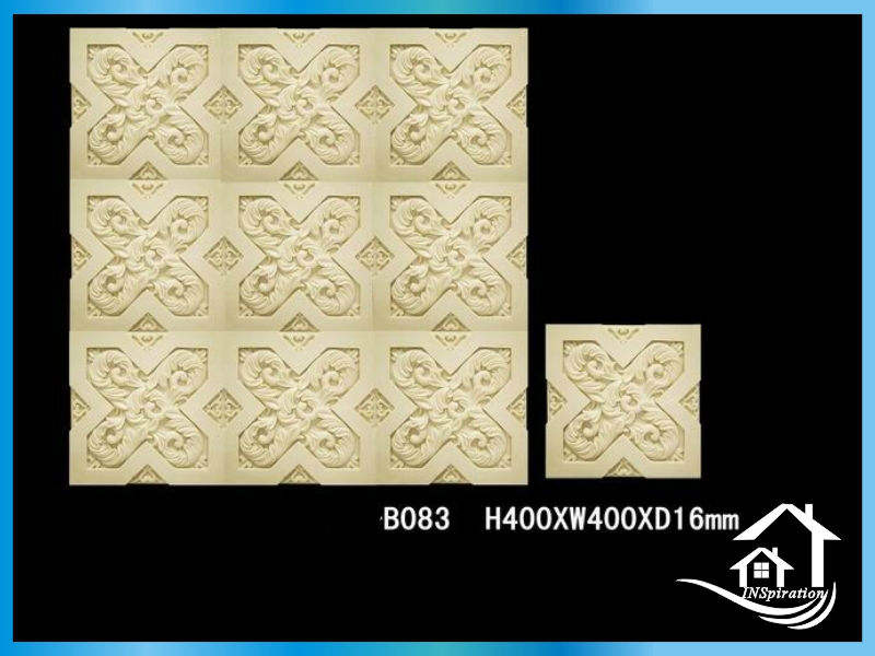 Unique cast stone decorative wall tile