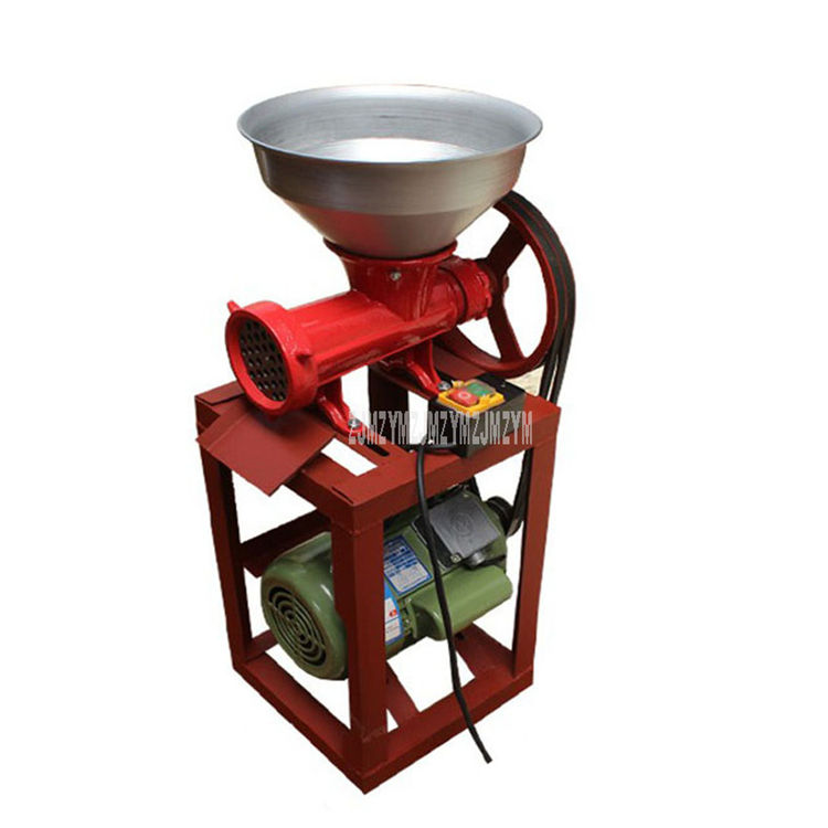 2.2KW 1400r/min Heavy Duty Commercial Automatic Electric Meat Grinder Machine Mincer Pepper Chicken Skeleton Bone Grinder 220V
