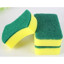 Magic Sponge Eraser Kitchen Duster Wipes Home Microfiber Dish Cleaning Sponges Kitchen's Tools,2 Sided Cleaning Pad