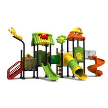Affordable cheap plastic outdoor garden swing set for baby