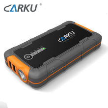 CARKU backup power solutions 6600mAh car battery jump starter kit if battery dead with wireless charger