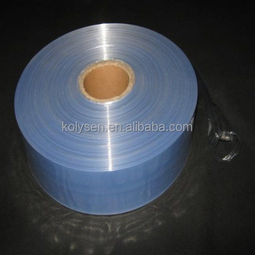 factory wholesale blue PVC shrink film for packing