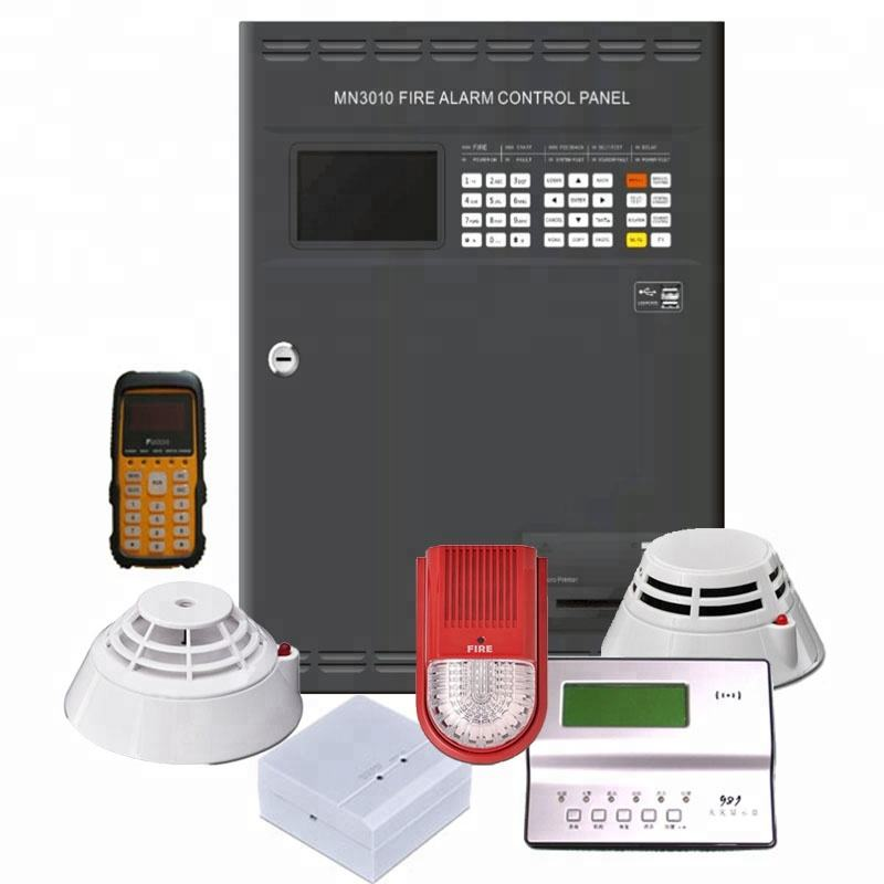 High quality 1 loop addressable fire alarm panel systems With CE certificate