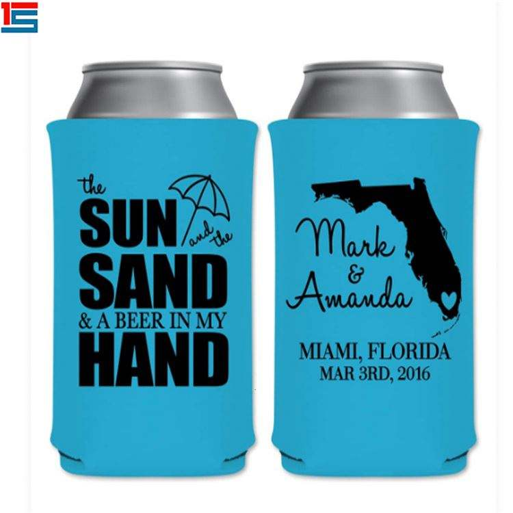 Top Vendendo 3MM Koozies Personalizados