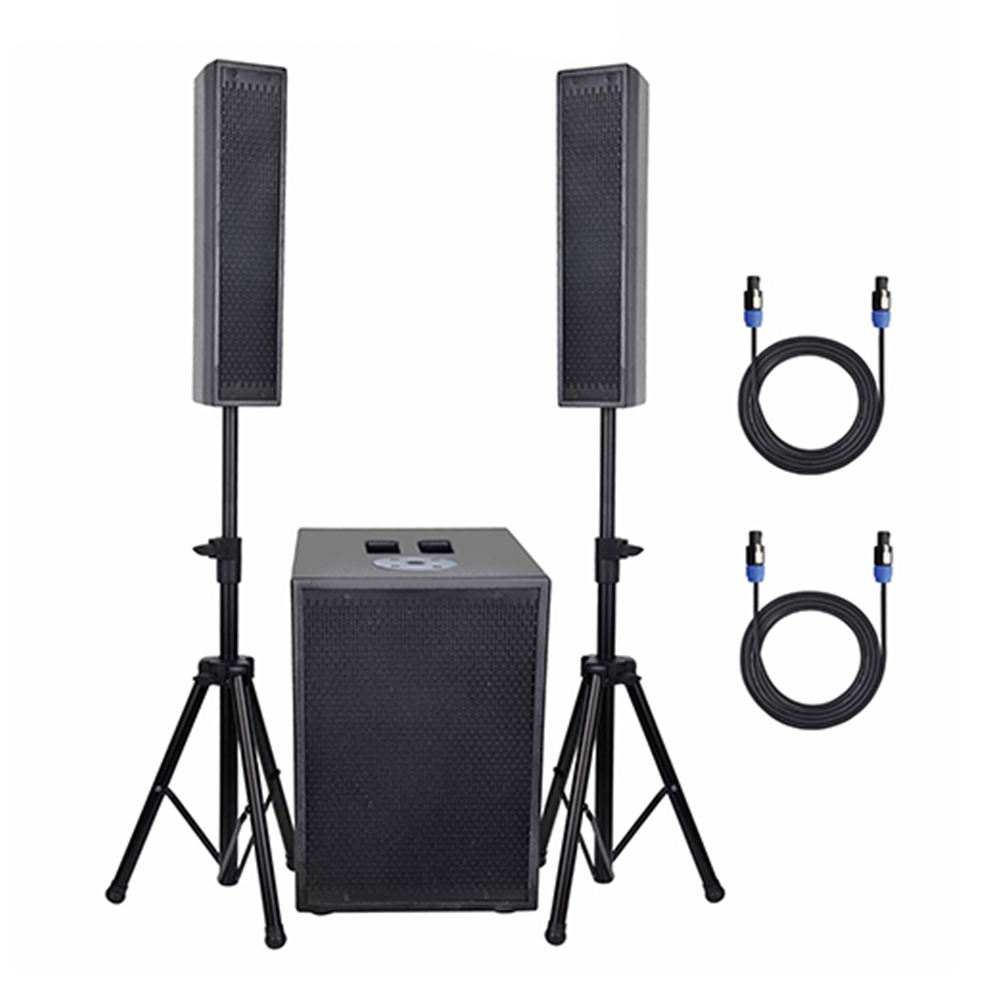 RQSONIC WA312A-BT Active Column PA Sound Speaker System With Bluetooth