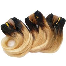 Best Selling Short Wavy Human Hair Extension Virgin Brazilian Ombre Color Hair Products for Black Women