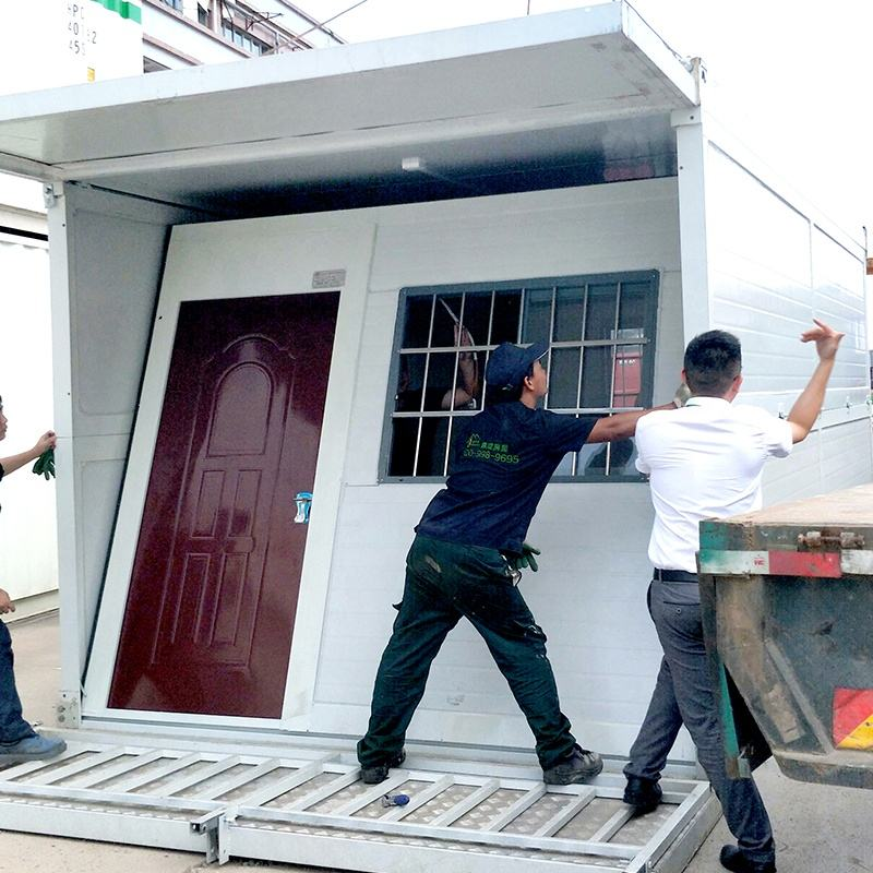 2018 new design modern mobile prefab foldable container house