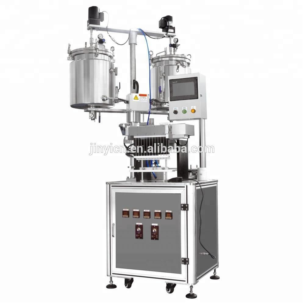 JLG Auto 12 노즐 립 gloss filling machine/how to make your own 립 gloss