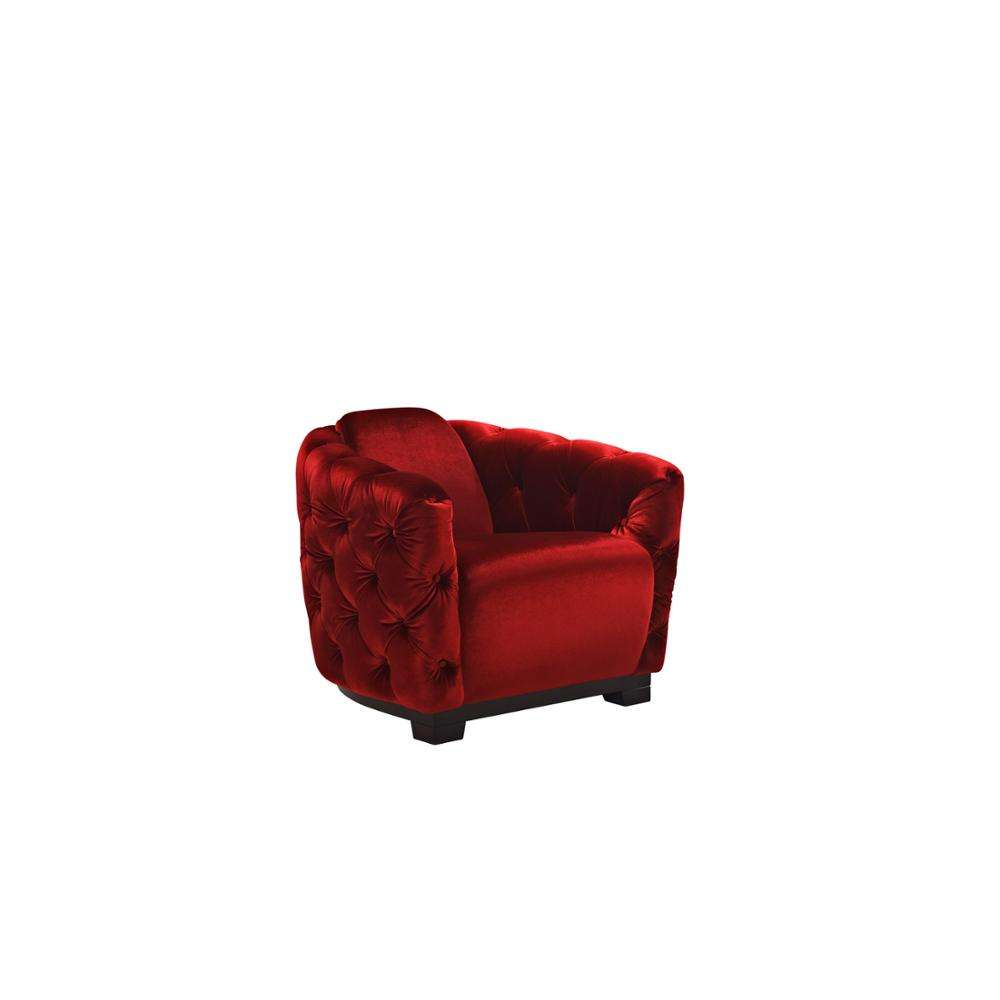 Italian Design Modern Style Luxury Fabric Arabic Sofa Chair Living Room Sofas